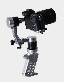 Came-single mini gimbal single handed pistol grip style gimbal