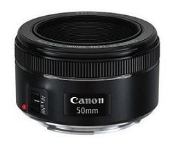 Canon New 50mm F/1.8 STM Lens