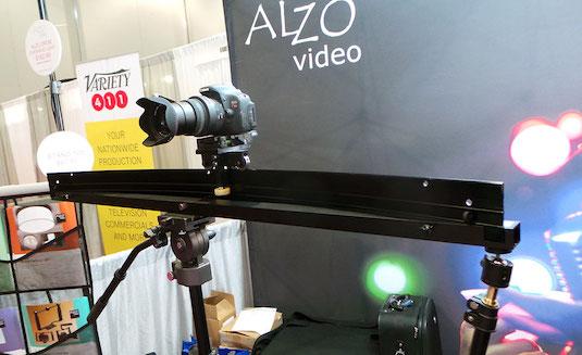 alzo radius video slider