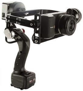 NAB 2015- SHAPE iSEE Single Handle Gimbal Stabilizer for GoPro and DSLR