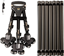 Cinerails Tripod Track Curved Dolly System