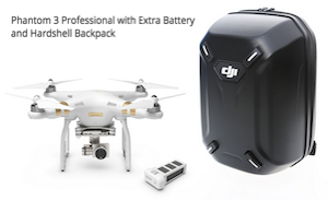 DJI Phantom 3 Case Backpack