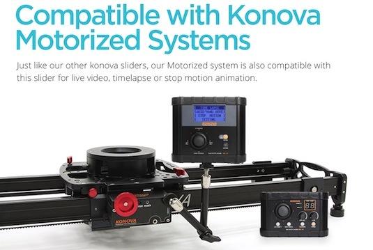 Konova Motorized Slider Systems