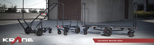 Krane AMG Innovative Gear Carts – Cinegear 2015