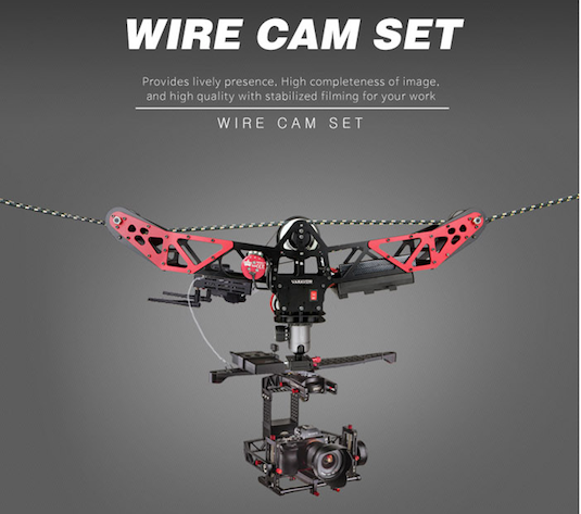 Varavon Wirecam Cable Cam System