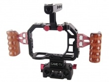 CAME-TV CAGES for BMPCC + GH4 + Canon DSLR with MatteBox Follow Focus Shoulder Rig Lens Supports