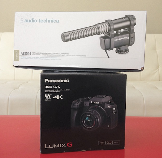 Panasonic DMC-G7 4K Video M43 Mirrorless Camera + FREE $249 AudioTechnica AT8024 Shotgun Mic DEAL