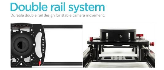 konova k-cine double rail system
