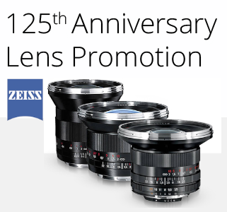 125th Anniversary Promotion Discounts on Zeiss Lenses