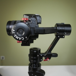 CAME-SINGLE GH4 A7s Gimbal