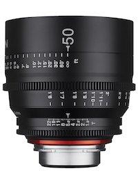 Rokinon Samyang Xeen 50mm Cine Lens