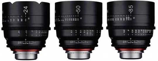Rokinon Xeen Cinema Lenses Prime