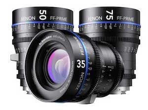 Schneider XENON Cinema Prime Lenses