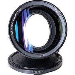 SLR Magic Anamorphot 1.33x Anamorphic Lens Adapter with Sony RX10 Mark II