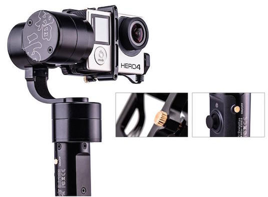Zhiyun Upgraded Z1 Evolution Handheld Gopro Gimbal