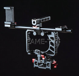 Sony A7RII (possibly Sony A7sII) Video Cage Rig from CAME-TV