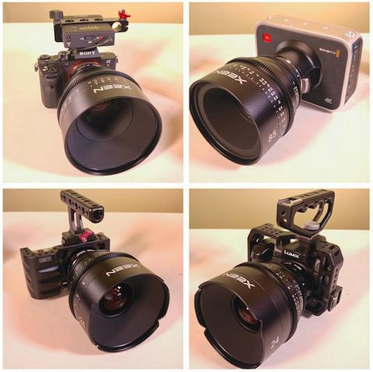 Rokinon XEEN Cine Prime Lenses