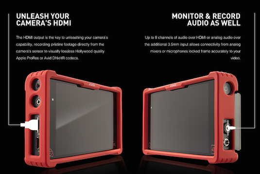New Atomos Ninja Assassin 4K HDMI Recorder Monitor