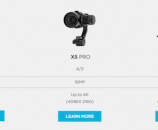 DJI OSMO Handheld System for X3 X5 and X5 Camera Gimbals