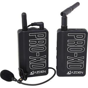 azden pro-xd wireless lav mic system