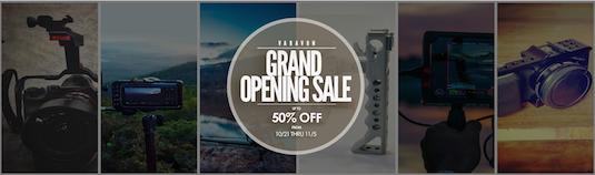 varavon grand opening sale