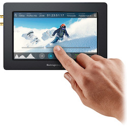 video assist monitor recorder blackmagic
