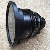 3d printed nd filter cinema prime lens