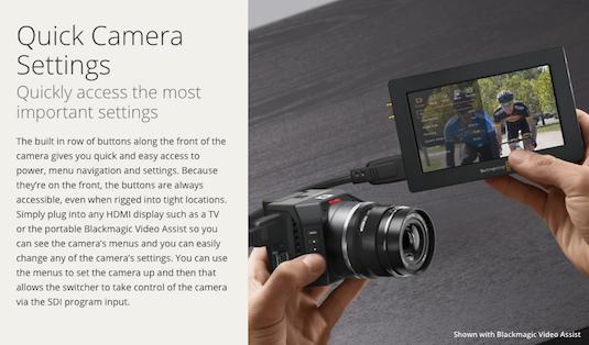 Blackmagic 4k Micro Studio Camera In Stock Cheesycam