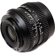slr magic cine 50mm prime lens