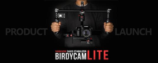 Varavon Birdycam Lite Gimbal Stabilizer Encoders