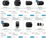 Sony Lens Instant Savings and up to 10 Percent Rewards Back