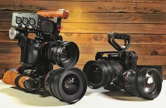 Rokinon Cine DS Lens Bundle Deal Sale Discount GH4 Sony A7sII A7s A7RII A7r