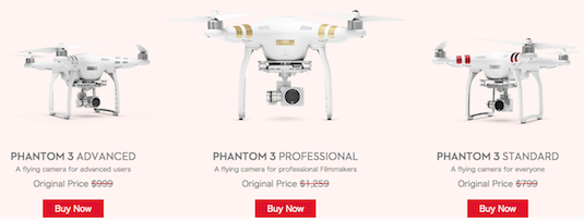 dji phantom 3 quadcopter sale discounts