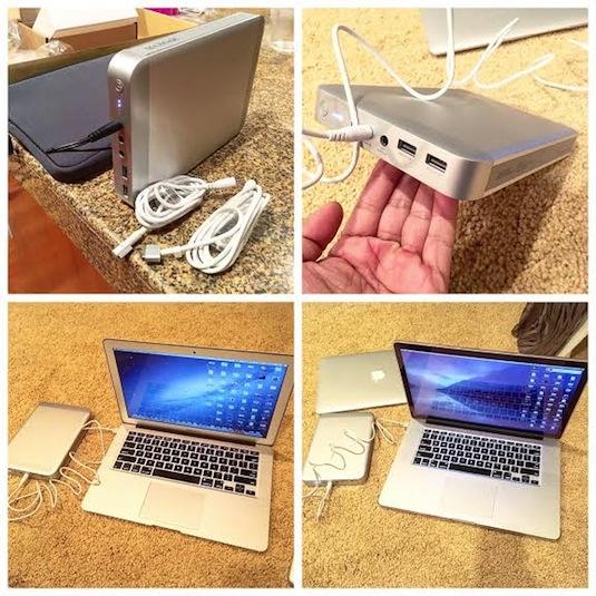 maxoak external macbook battery magsafe cables air pro retina