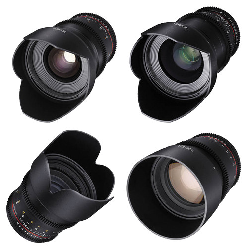 rokinon Cine DS Lens Kit