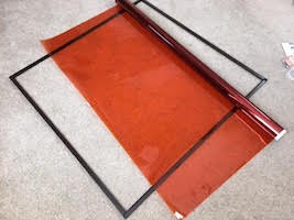 gel holder frame scrim diffuser