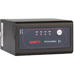 swit battery for sony npf series l series meter dc out