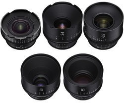xeen cinema prime lens bundle