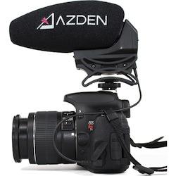 azden shotgun microphone dual