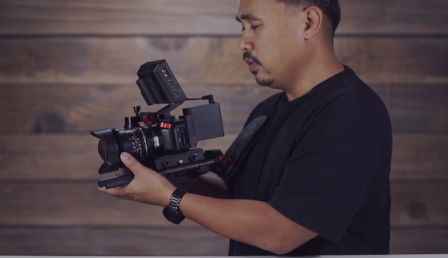 blackmagic micro cinema camera rigged