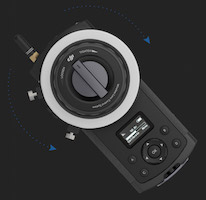 dji remote follow focus system x5 camera