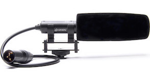azden sgm-pdii microphone shotgun ursa mini