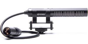 azden sgm-pdii shotgun short microphone xlr ursa