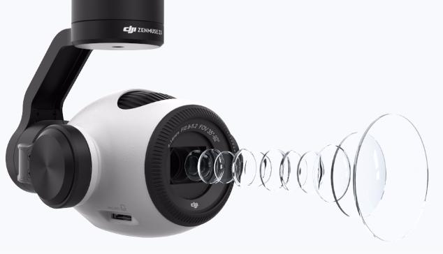 dji z3 optical zoom camera gimbal