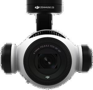 dji zenmuse z3 with optical zoom
