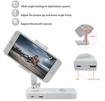 x-cam iphone stabilizer 2 axis bluetooth