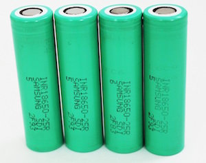 18650 samsung battery cells