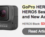 GoPro Karma Drone Gimbal System and new HERO5 Cameras