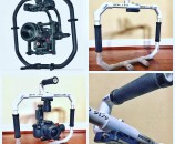 DIY PVC Gimbal Fig Ring Ring Stand Frame