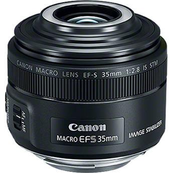 Canon New EF-S 35mm F/2.8 STM Macro Lens
